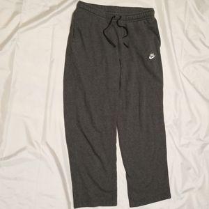 Nike Men's gray jogging sweatpants size Large